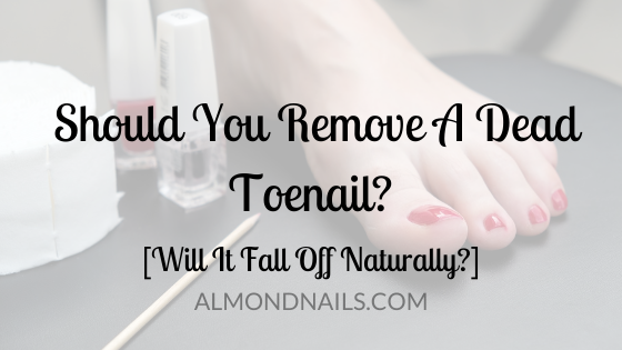Should You Remove A Dead Toenail? [Will It Fall Off Naturally?]